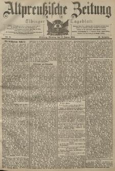 Altpreussische Zeitung, Nr. 15 Dienstag 19 Januar 1904, 56. Jahrgang