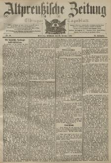 Altpreussische Zeitung, Nr. 16 Mittwoch 20 Januar 1904, 56. Jahrgang