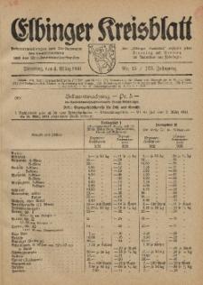 Kreis-Blatt des Königlich Preußischen Landraths-Amtes zu Elbing, Nr. 15 / 123 Jahrgang, Dienstag 4 März 1941