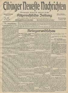 Elbinger Neueste Nachrichten, Nr. 269 Donnerstag 1 Oktober 1914 66. Jahrgang
