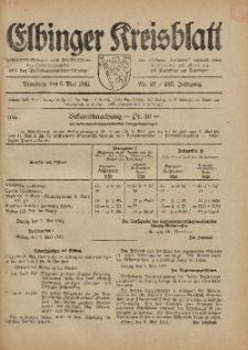 Kreis-Blatt des Königlich Preußischen Landraths-Amtes zu Elbing, Nr. 32 / 123 Jahrgang, Dienstag 6 Mai 1941