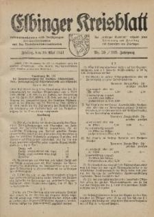 Kreis-Blatt des Königlich Preußischen Landraths-Amtes zu Elbing, Nr. 39 / 123 Jahrgang, Freitag 30 Mai 1941
