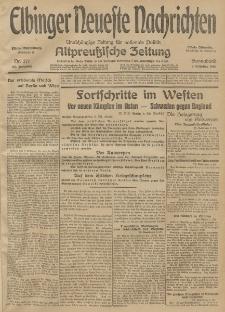 Elbinger Neueste Nachrichten, Nr. 271 Sonnabend 3 Oktober 1914 66. Jahrgang