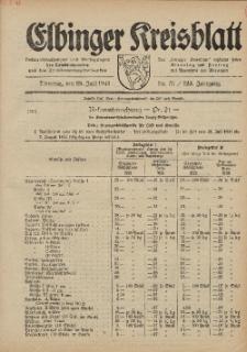 Kreis-Blatt des Königlich Preußischen Landraths-Amtes zu Elbing, Nr. 51 / 123 Jahrgang, Dienstag 29 Juli 1941