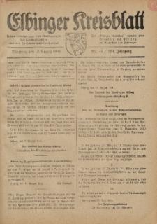 Kreis-Blatt des Königlich Preußischen Landraths-Amtes zu Elbing, Nr. 54 / 123 Jahrgang, Dienstag 12 August 1941