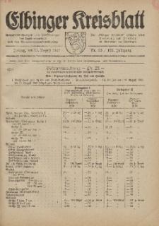 Kreis-Blatt des Königlich Preußischen Landraths-Amtes zu Elbing, Nr. 55 / 123 Jahrgang, Freitag 15 August 1941