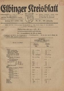 Kreis-Blatt des Königlich Preußischen Landraths-Amtes zu Elbing, Nr. 68 / 123 Jahrgang, Freitag 3 Oktober 1941