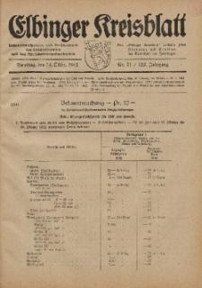 Kreis-Blatt des Königlich Preußischen Landraths-Amtes zu Elbing, Nr. 71 / 123 Jahrgang, Dienstag 14 Oktober 1941