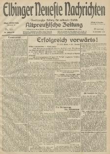 Elbinger Neueste Nachrichten, Nr. 274 Dienstag 6 Oktober 1914 66. Jahrgang