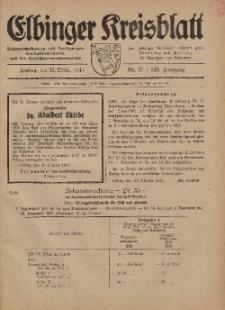 Kreis-Blatt des Königlich Preußischen Landraths-Amtes zu Elbing, Nr. 75 / 123 Jahrgang, Freitag 31 Oktober 1941