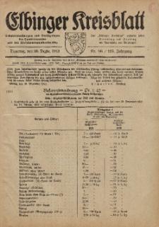 Kreis-Blatt des Königlich Preußischen Landraths-Amtes zu Elbing, Nr. 86 / 123 Jahrgang, Dienstag 30 Dezember 1941