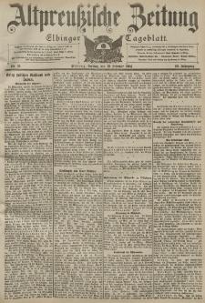 Altpreussische Zeitung, Nr. 36 Freitag 12 Februar 1904, 56. Jahrgang