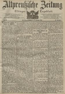 Altpreussische Zeitung, Nr. 40 Mittwoch 17 Februar 1904, 56. Jahrgang