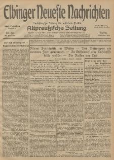 Elbinger Neueste Nachrichten, Nr. 277 Freitag 9 Oktober 1914 66. Jahrgang