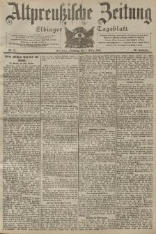 Altpreussische Zeitung, Nr. 51 Dienstag 1 März 1904, 56. Jahrgang