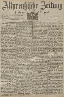 Altpreussische Zeitung, Nr. 52 Mittwoch 2 März 1904, 56. Jahrgang