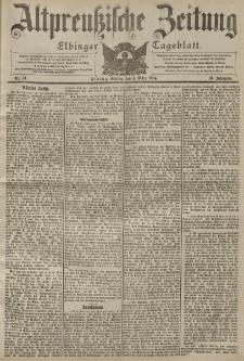 Altpreussische Zeitung, Nr. 54 Freitag 4 März 1904, 56. Jahrgang