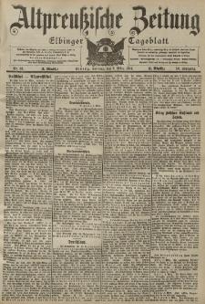 Altpreussische Zeitung, Nr. 56 Sonntag 6 März 1904, 56. Jahrgang