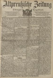 Altpreussische Zeitung, Nr. 59 Donnerstag 10 März 1904, 56. Jahrgang