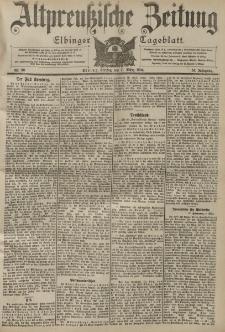 Altpreussische Zeitung, Nr. 60 Freitag 11 März 1904, 56. Jahrgang