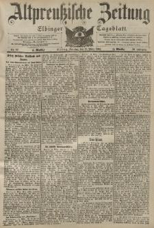 Altpreussische Zeitung, Nr. 62 Sonntag 13 März 1904, 56. Jahrgang