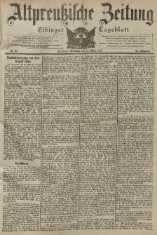 Altpreussische Zeitung, Nr. 64 Mittwoch 16 März 1904, 56. Jahrgang