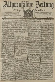 Altpreussische Zeitung, Nr. 65 Donnerstag 17 März 1904, 56. Jahrgang