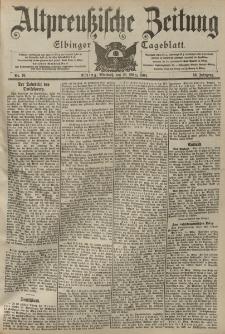 Altpreussische Zeitung, Nr. 70 Mittwoch 23 März 1904, 56. Jahrgang
