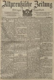 Altpreussische Zeitung, Nr. 73 Sonnabend 26 März 1904, 56. Jahrgang