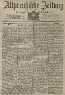 Altpreussische Zeitung, Nr. 77 Donnerstag 31 März 1904, 56. Jahrgang