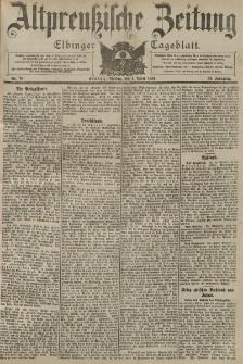 Altpreussische Zeitung, Nr. 78 Freitag 1 April 1904, 56. Jahrgang