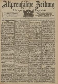 Altpreussische Zeitung, Nr. 103 Dienstag 3 Mai 1904, 56. Jahrgang