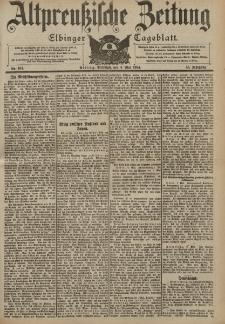 Altpreussische Zeitung, Nr. 104 Mittwoch 4 Mai 1904, 56. Jahrgang