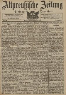 Altpreussische Zeitung, Nr. 106 Freitag 6 Mai 1904, 56. Jahrgang
