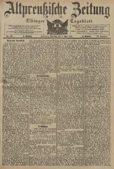 Altpreussische Zeitung, Nr. 108 Sonntag 8 Mai 1904, 56. Jahrgang