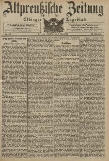 Altpreussische Zeitung, Nr. 109 Dienstag 10 Mai 1904, 56. Jahrgang