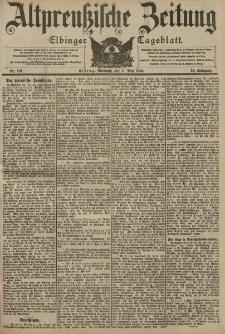 Altpreussische Zeitung, Nr. 110 Mittwoch 11 Mai 1904, 56. Jahrgang