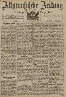 Altpreussische Zeitung, Nr. 113 Sonntag 15 Mai 1904, 56. Jahrgang