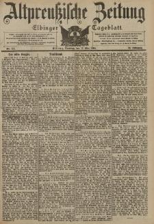 Altpreussische Zeitung, Nr. 114 Dienstag 17 Mai 1904, 56. Jahrgang