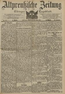 Altpreussische Zeitung, Nr. 119 Sonntag 22 Mai 1904, 56. Jahrgang