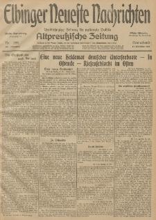 Elbinger Neueste Nachrichten, Nr. 285 Sonnabend 17 Oktober 1914 66. Jahrgang