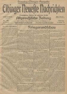 Elbinger Neueste Nachrichten, Nr. 286 Sonntag 18 Oktober 1914 66. Jahrgang