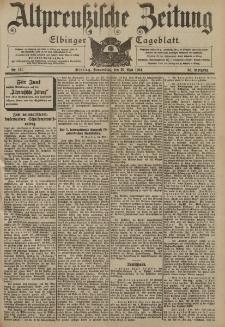 Altpreussische Zeitung, Nr. 121 Donnerstag 26 Mai 1904, 56. Jahrgang