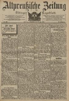 Altpreussische Zeitung, Nr. 123 Sonnabend 28 Mai 1904, 56. Jahrgang