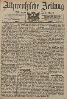 Altpreussische Zeitung, Nr. 124 Sonntag 29 Mai 1904, 56. Jahrgang