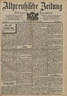 Altpreussische Zeitung, Nr. 125 Dienstag 31 Mai 1904, 56. Jahrgang