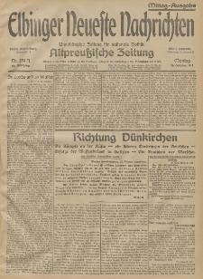 Elbinger Neueste Nachrichten, Nr. 294 Montag 26 Oktober 1914 66. Jahrgang
