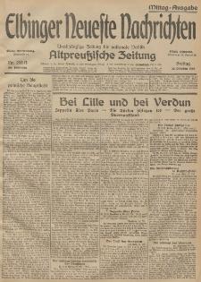 Elbinger Neueste Nachrichten, Nr. 298 Freitag 30 Oktober 1914 66. Jahrgang