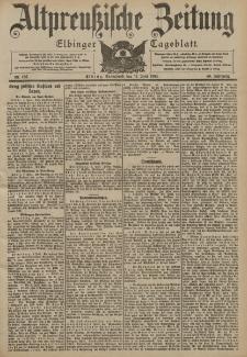 Altpreussische Zeitung, Nr. 135 Sonnabend 11 Juni 1904, 56. Jahrgang