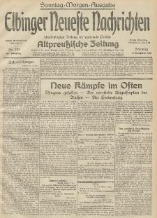 Elbinger Neueste Nachrichten, Nr. 307 Sonntag 8 November 1914 66. Jahrgang
